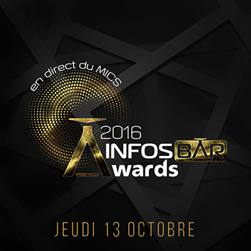 Infosbar Awards en direct du Mics sur Facebook et Youtube