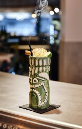 Le bar à cocktails de ISTR à Paris