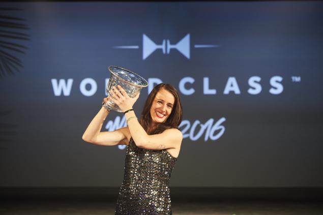 """Jennifer Le Nechet élue """"Meilleur Bartender du Monde"""" en 2016 // DR"""