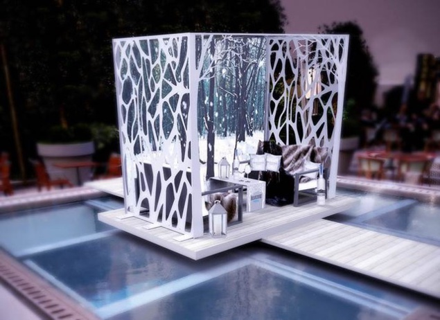 Jardin d'hiver Belvedere au Royal Monceau-Raffles Paris