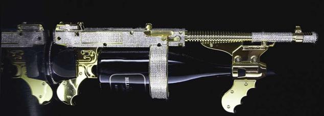 Extra Night Gun - Modèle Swarovski
