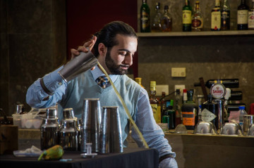 Luca Cinalli : guest bartender du bar Botaniste à Paris