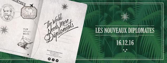 Les Nouveaux Diplomates : retour à Paris le 16 décembre 2016