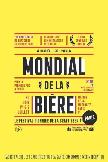 Le Mondial de la Bière arrive enfin à Paris