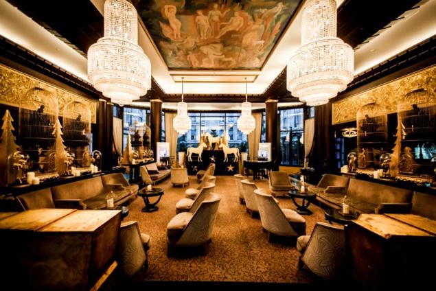 """Cocktail """"Cabaret"""" au Purple Bar"""