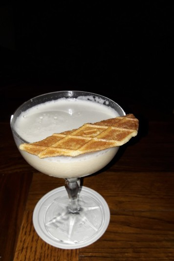 Cocktail « Zabaglione » // © Infosbar.com