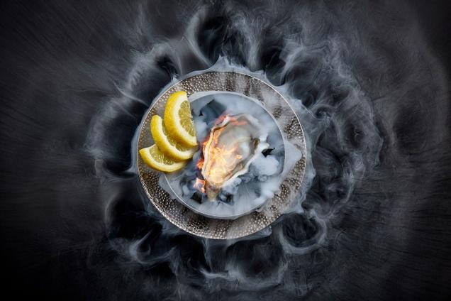 Oyster Ginger Shot
