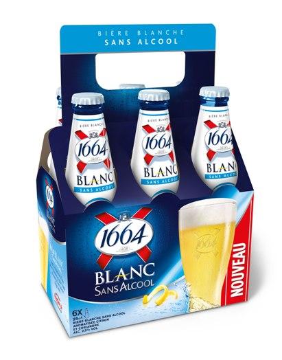 Nouveauté : Bière 1664 Blanc Sans Alcool