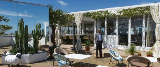 Cannes 2017 : le Mouton Cadet Wine Bar sur le toit du Palais des Festivals
