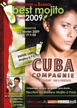 Concours Best Mojito 2009 @ Cuba Compagnie avec Infosbar