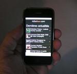 Infosbar sur i-Phone