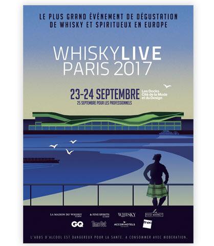 Whisky Live Paris 2017 : ouverture de la billetterie