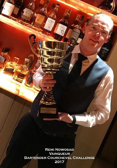 Bartender Contest Courchevel 2017 : le palmarès