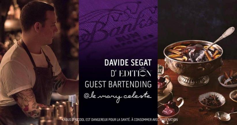 The Art Of Punch : Banks X Davide Segate Guest Bartending