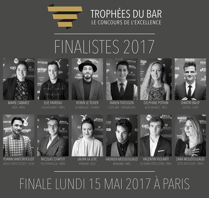Trophées du bar 2017 : la liste des finalistes