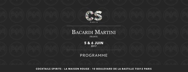 Cocktails Spirits Paris 2017 : le programme de Bacardi Martini France