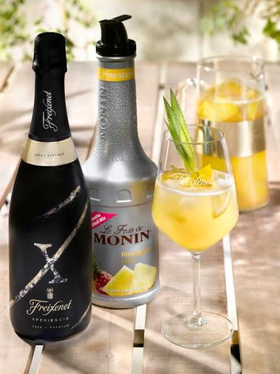 cocktail  u0026quot sangria x fizz u0026quot  by monin