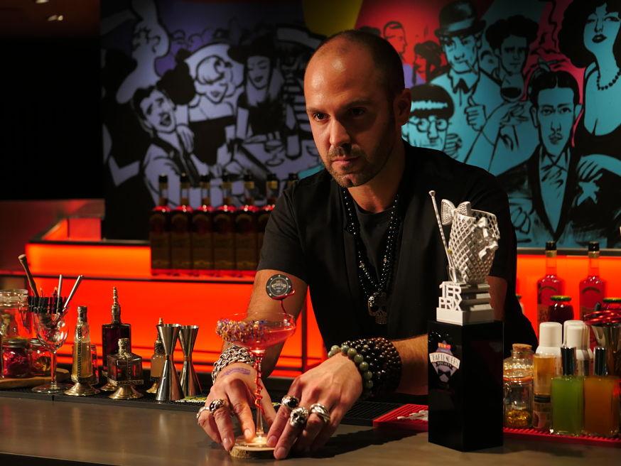 Matthias Giroud, Président de la 2 ème édition de The Bartenders Society