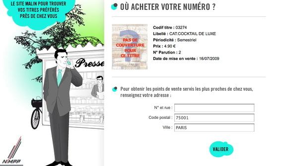 Magazine Cocktail Deluxe N°2 by Barmag // Les kiosques où le trouver en France
