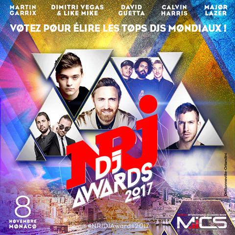 NRJ DJ Awards 2017 au MICS : à vous de voter !