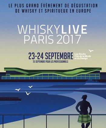 Whisky Live Paris 2017 : le programme des Masterclasses professionnelles