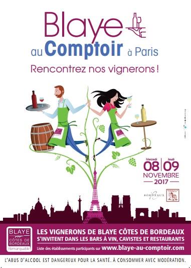 Blaye Au Comptoir 2017 à Paris