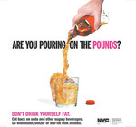 Croisade choc contre les boissons gazeuses à New York