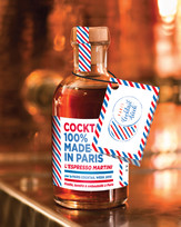 Paris Cocktail Week : création d'un cocktail 100% torréfié, distillé et embouteillé à Paris