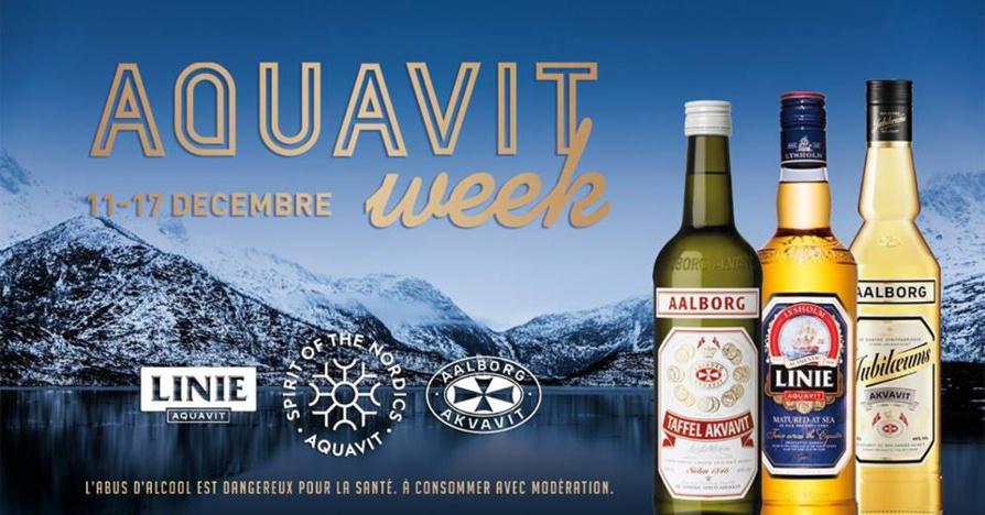 Aquavit week 2017 : l'Aquavit à l'honneur pendant une semaine