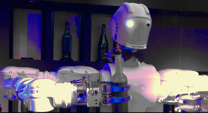 R1-B1, le robot bartender conçu par Cedric Moindrot (Traiteur du Marais)