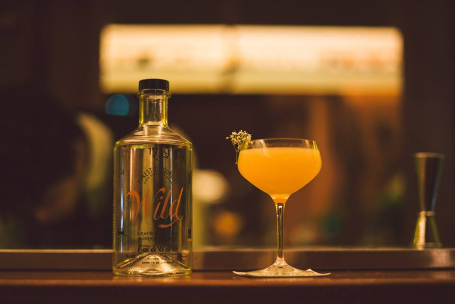 """Cocktail signature """"Maraîchère"""" par Valentin Tanneau"""