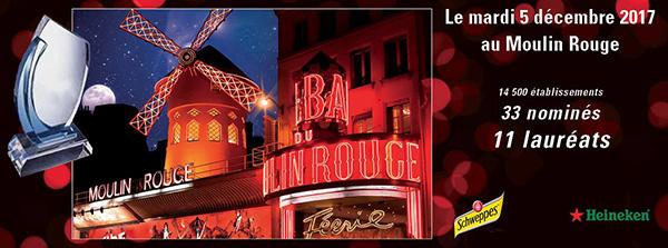 Trophées de la Nuit 2017 au Moulin Rouge : le Palmarès