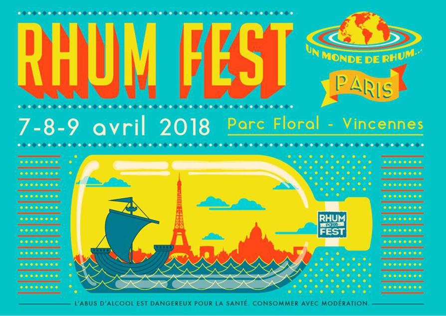 Rhum Fest Paris 2018 : billetterie ouverte
