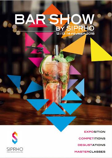 SIPRHO 2018 : nouveauté avec le Bar Show