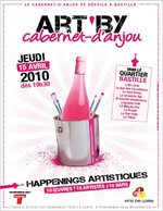 ART'BY Cabernet d'Anjou dans le quartier de Bastille