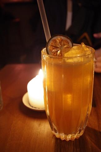 "Cocktail ""Passion Del Pebre"" // © Infosbar.com"
