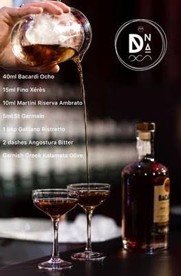 Cocktail Signature #BacardiDNA