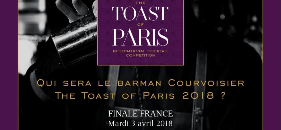 Toast of Paris 2018 by Courvoisier : Finale Française le 3 avril 2018