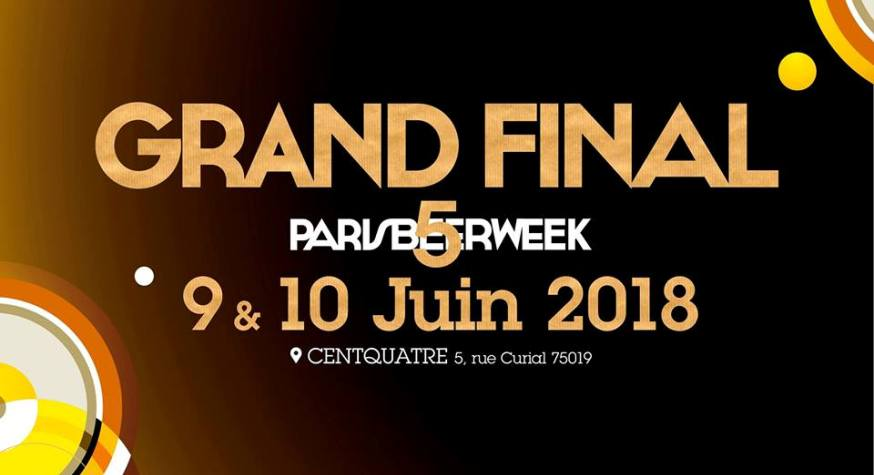 Grand Final de la Paris Beer Week 2018