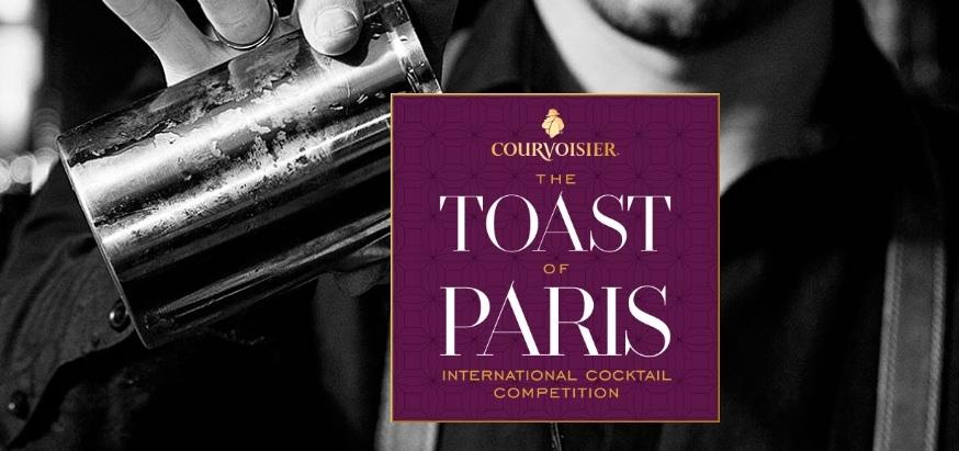 Toast of Paris 2018 by Courvoisier : Finale Internationale au Purple Bar à Paris