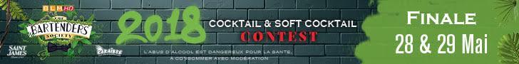 The Bartenders Society 2018 : Finale au Kube Hotel à Paris