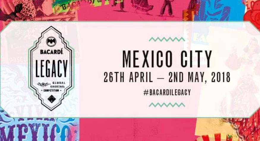 Finale Internationale de la Bacardi Legacy Cocktail Competition 2018 à Mexico City