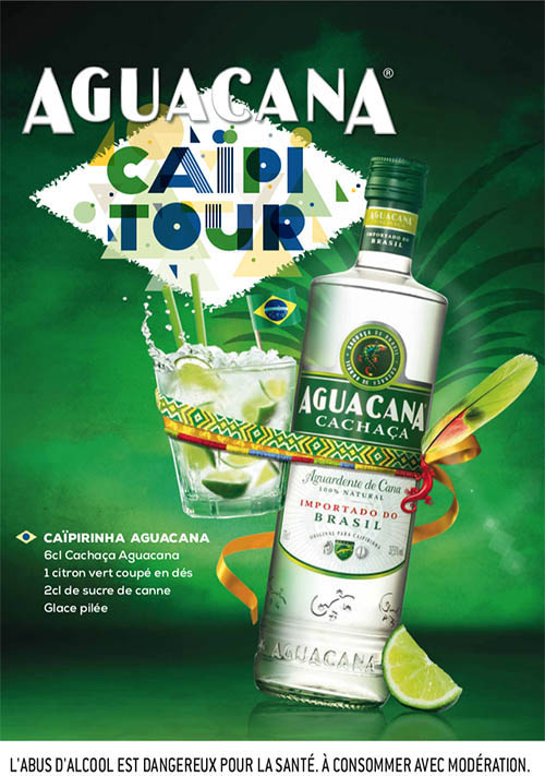 L'Aguacana Caïpi Tour : une tournée festive 100% Brasil !