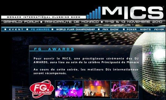 MICS Monaco du 11 au 13 novembre