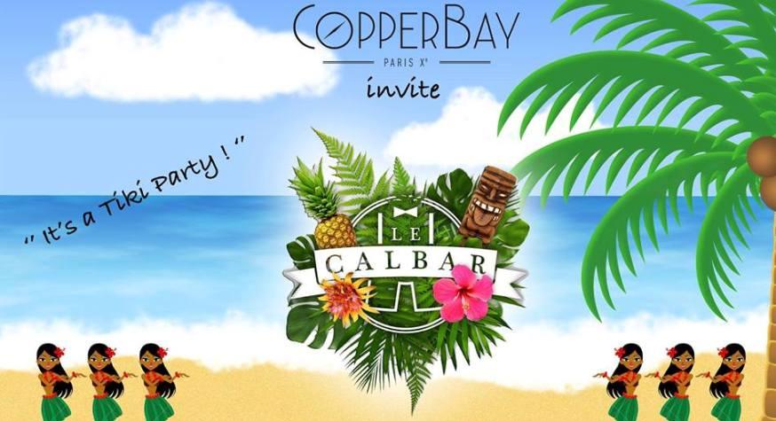 Tiki Party : Le CopperBay invite le Calbar