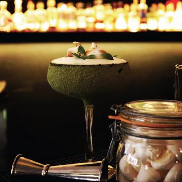 """Cocktail Signature """"Signature Shenron"""" par Simon Quentin"""