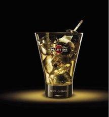 Fiche recette cocktail : Martini Gold on ice