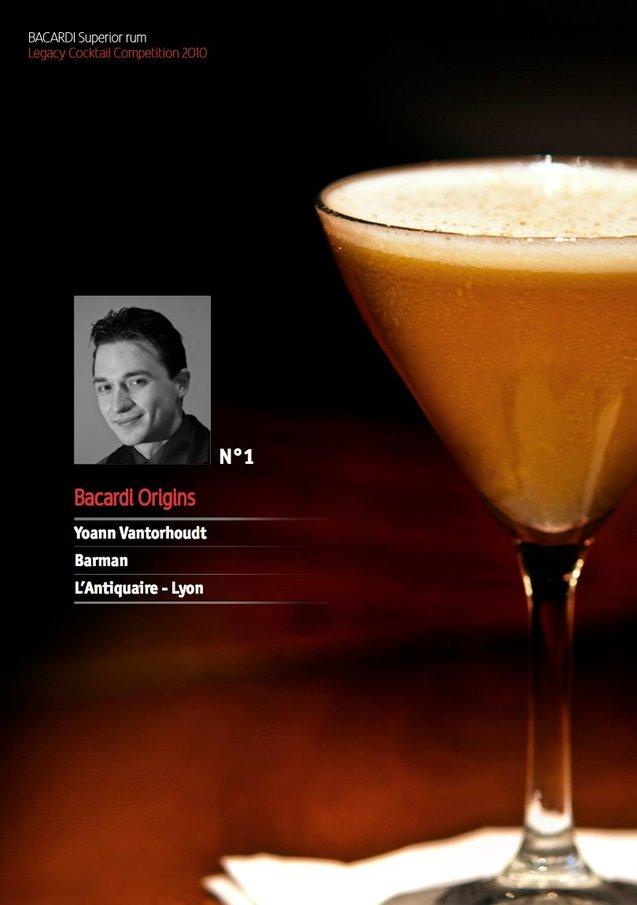 Bacardi Legacy Cocktail Competition 2010 // Yoann Vantorhoudt
