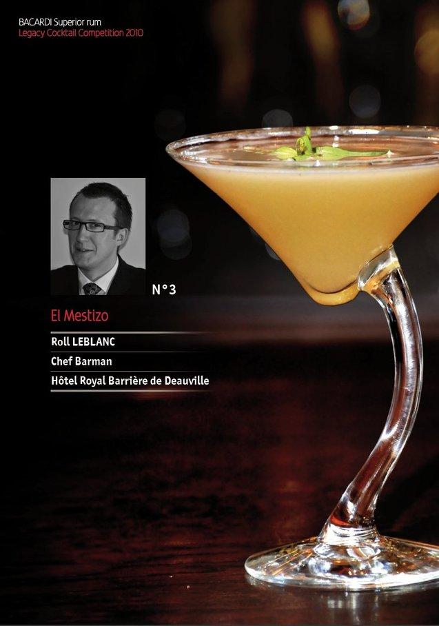 Bacardi Legacy Cocktail Competition 2010 // Roll Leblanc