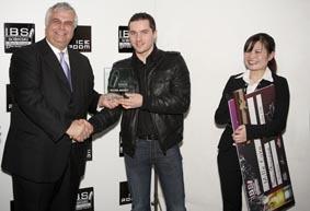Stephen Hinz (Allemagne) , 2 ème place du concours IBS 2010